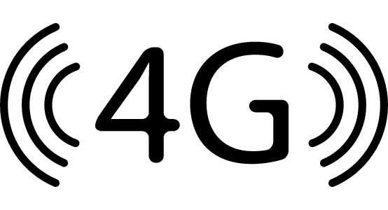 4G phone signal on most networks